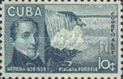 [Airmail - The 100th anniversary of the Death of J. M. Heredia y Campuzaono, Poet, type ET]