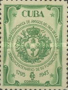[The 150th Anniversary of The Economic Society of Friends of Havana, type FV]