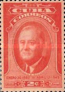 [The 2nd Anniversary of the Death of President Roosevelt, type GD]