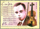 [The 200th Anniversary of the Birth of Amadeo Roldan, 1900-1939, type GHO]