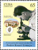 [The 100th Anniversary of the Birth of Dr. Pedro Kouri Esmeja, 1900-1964, type GIE]