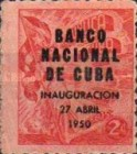 [National Bank Opening - Stamp of 1948 Overprinted