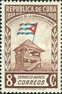 [Airmail - The 100th Anniversary of The Cuban Flag, type HS]