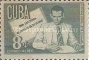 [Airmail - The 16th Anniversary of the Death of Doctor A. Guiteras Holmes in Skirmish at Morrillo, type HX1]