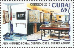 [The 45th Anniversary of Postal Museum José L. Guerra Aguiar, type IDO]