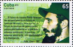 [The 50th Anniversary of Fidel Castro's Speech on Science, type IDT]