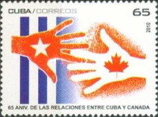 [The 65th Anniversary of Relations with Canada, type IFC]