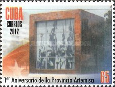 [The 1st Anniversary of the Province of Artemisa, type IMF]