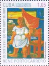 [Paintings - The 100th Anniversary of the Birth of Rene Portocarrero, 1912-1985, type IMH]