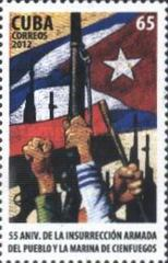 [The 55th Anniversary of the Insurrection of Cienfuegos, type INO]
