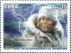 [The 30th Anniversary of the First Cuban Antarctic Expedition, type IOQ]