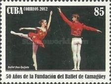 [The 50th Anniversary of the Camaguey Ballet, type IOV]