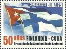[The 50th Anniversary of the Finnish-Cuban Association, type IPG]