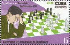[Chess - The 125th Anniversary of the Birth of  José Raúl Capablanca, 1888-1942, type IQF]