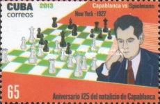[Chess - The 125th Anniversary of the Birth of  José Raúl Capablanca, 1888-1942, type IQG]