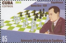 [Chess - The 125th Anniversary of the Birth of  José Raúl Capablanca, 1888-1942, type IQI]