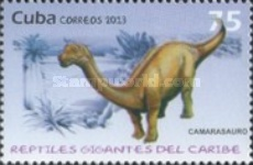 [Prehistoric Animals - Gigant Reptilies of  the Caribbean, type IQV]