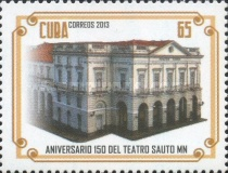[The 150th Anniversary of the Sauto Theater -  Matanzas, Cuba, type IQY]