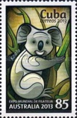 [World Stamp Exhibition AUSTRALIA 2013, type IRF]
