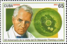 [The 60th Anniversary of the Visit of Alexander Fleming, 1881-1955, type IRH]