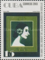 [Ballet - The 70th Anniversary of the Alicia Alonso debut in Gisselle, type IRM]