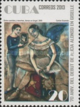 [Ballet - The 70th Anniversary of the Alicia Alonso debut in Gisselle, type IRN]