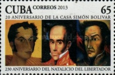 [The 230th Anniversary of the Birth of Simón Bolivar, 1783-1830, type ISK]
