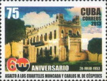 [The 60th Anniversary of the Attack at the Moncada and Carlos Manuel de Cespedes Garrisons, type ISN]