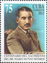 [The 60th Anniversary of the Death of Mario Muñoz Monroy, 1912–1953, type ISO]