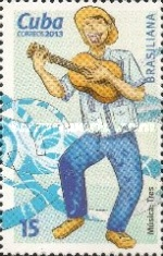 [World Stamp Exhibition BRASILIANA 2013, type ITC]