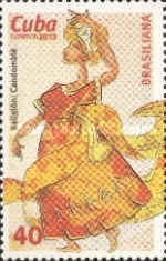 [World Stamp Exhibition BRASILIANA 2013, type ITD]