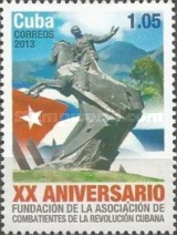 [The 20th Anniversary of the Foundation of the Fighters of the Cuban Revolution, type ITU]