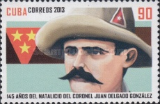 [The 145th Anniversary of the Birth of Juan Delgado Gonzalez, 1868-1898, type ITW]