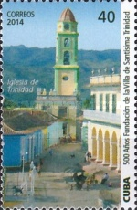 [The 500th Anniversary of the City of Santisima Trinidad, type ITY]