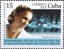 [The 500th Anniversary of the City of Puerto Principe, type IUE]