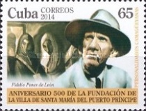 [The 500th Anniversary of the City of Puerto Principe, type IUF]