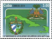 [The 110th Anniversary of Diplomatic Relations with Haiti, type IUP]