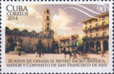 [The 20th Anniversary of the Convento of San Francisco de Asis, type IVI]