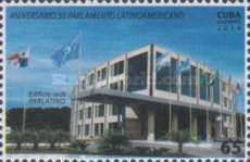 [The 50th Anniversary of the Latin American Parliament, type IWV]