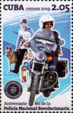[The 60th Anniversary of the PNR - National Revolutionary Police Force, type JTQ]