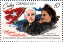 [The 10th Federation of Cuban Women Congress, type JTU]