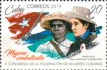 [The 10th Federation of Cuban Women Congress, type JTV]