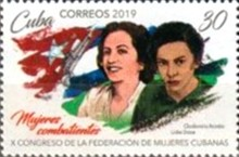 [The 10th Federation of Cuban Women Congress, type JTW]