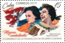[The 10th Federation of Cuban Women Congress, type JTX]