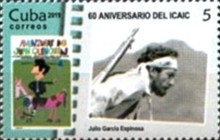 [The 60th Anniversary of the ICAIC - Cuban Institute of Cinematographic Art and Industry, type JTZ]