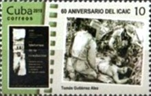 [The 60th Anniversary of the ICAIC - Cuban Institute of Cinematographic Art and Industry, type JUA]