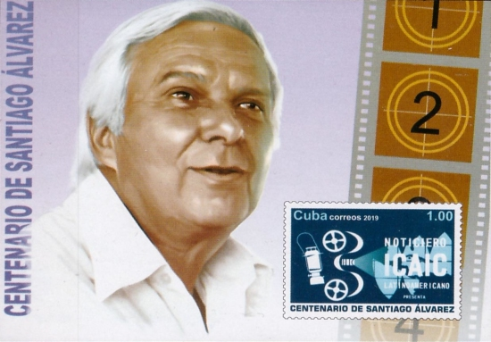 [The 100th Anniversary of the Birth of Santiago Álvarez, 1919-1998, type JVL]
