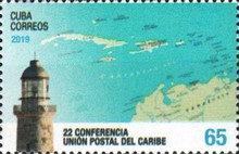 [The 22nd Caribbean Postal Union Conference -  Le Gosier, Guadeloupe, type JWP]