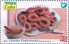 [America UPAEP Issue - Typical Meals, type JXD]