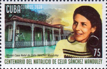 [The 100th Anniversary of the Birth of Celia Sanchez, 1920-1980, type JYF]